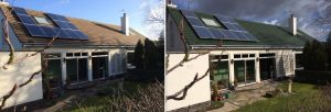 Roof Moss Removal in Newbridge, Yorkshire Area