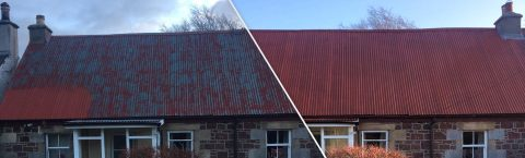 Roofing Moss Clear Service New Galloway