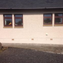 Render Cleaning in Aberdalgie